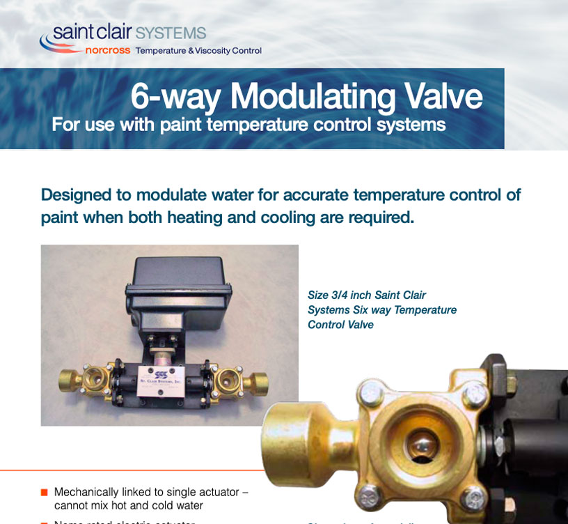 Six-way-Modulating-Valve