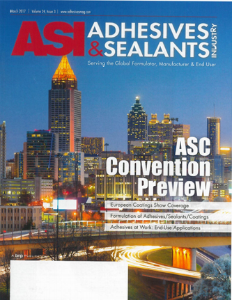 ASI Adhesives & Sealants Industry march 2017
