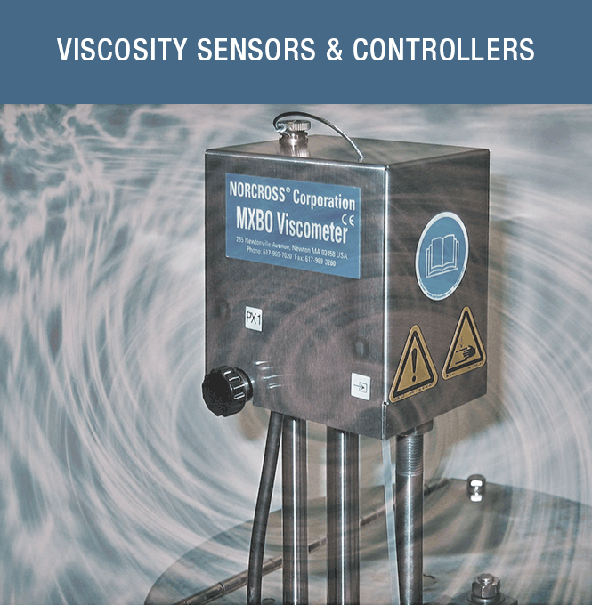 Viscosity Sensors and Controllers